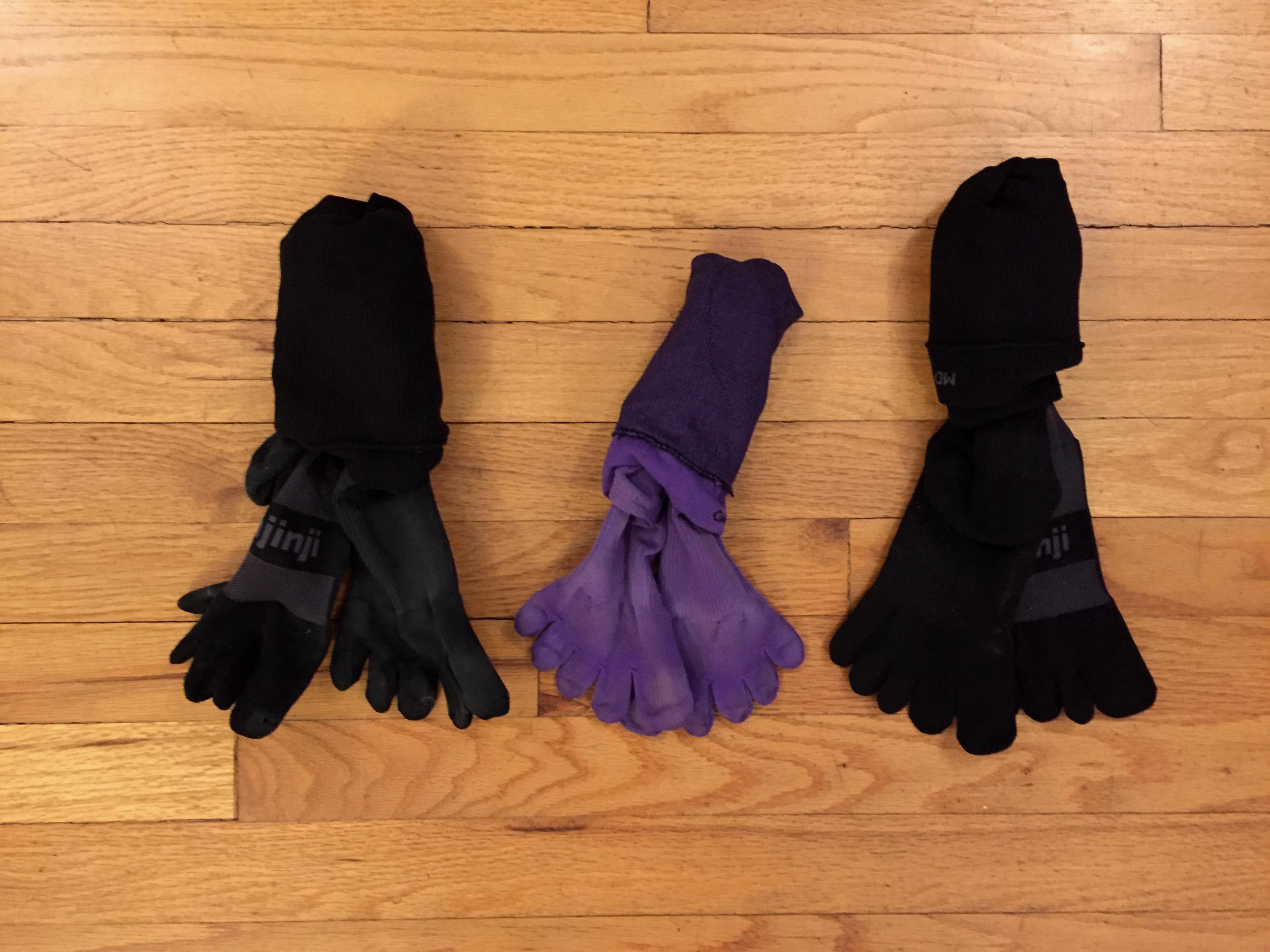 Injinji 2.0 Compression Running Socks