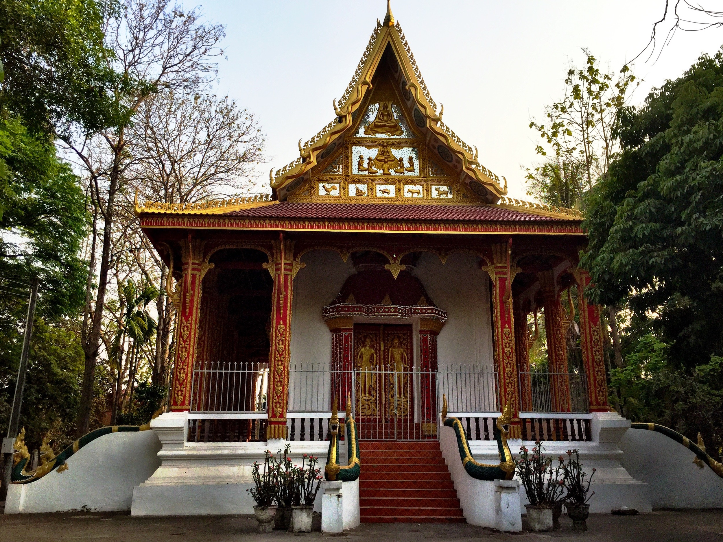 One of the temples in Wat Sakpoluang
