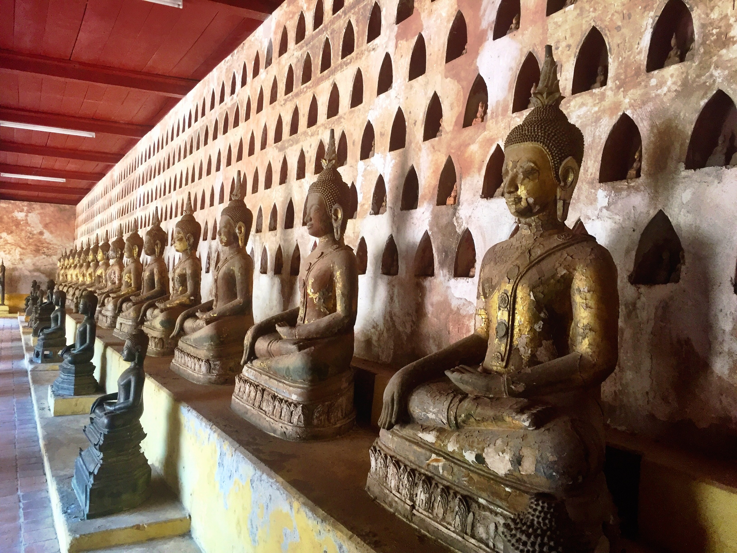 Buddahas in Wat Sisaket