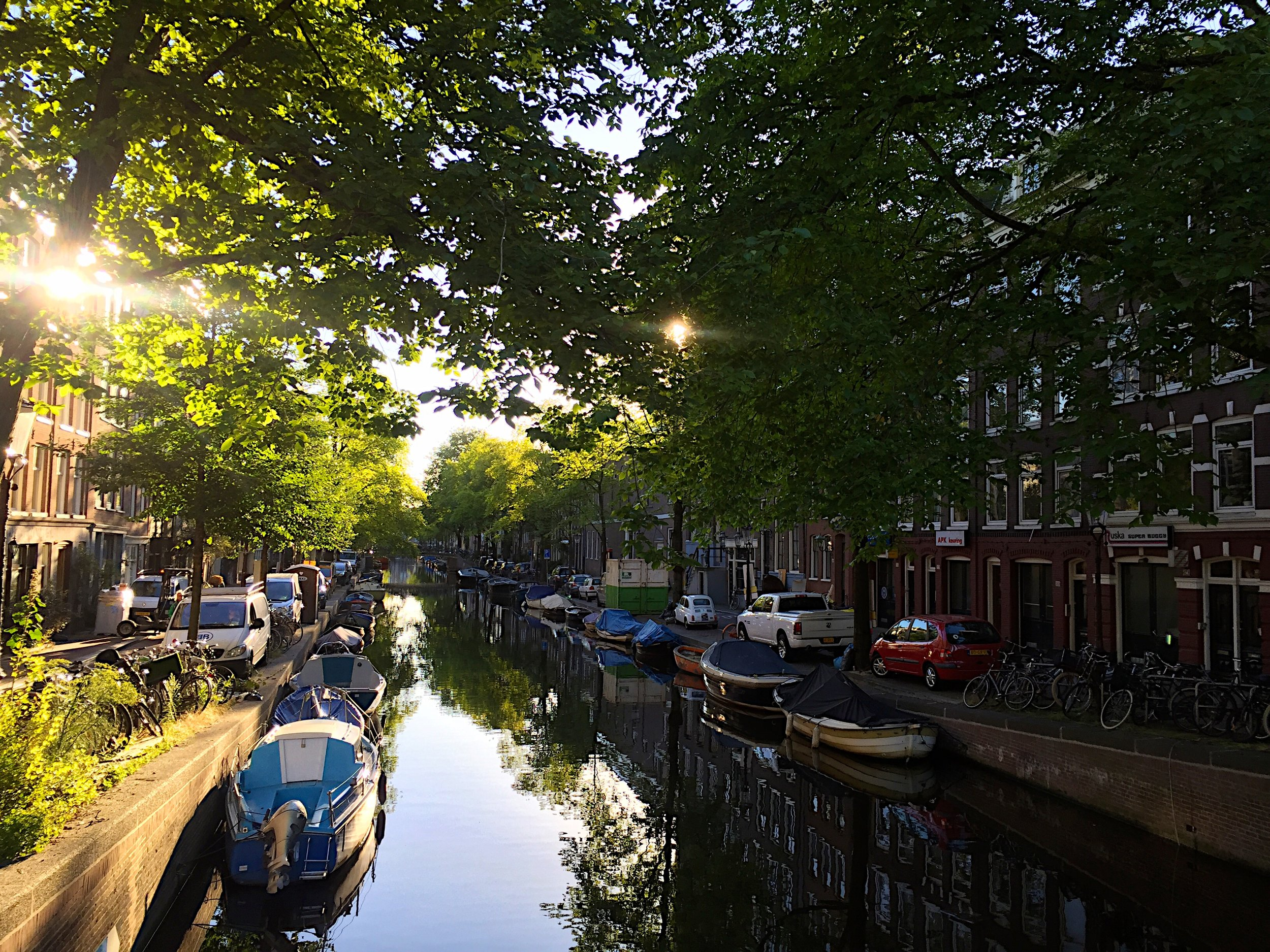 So many reason to love Amsterdam: canals...