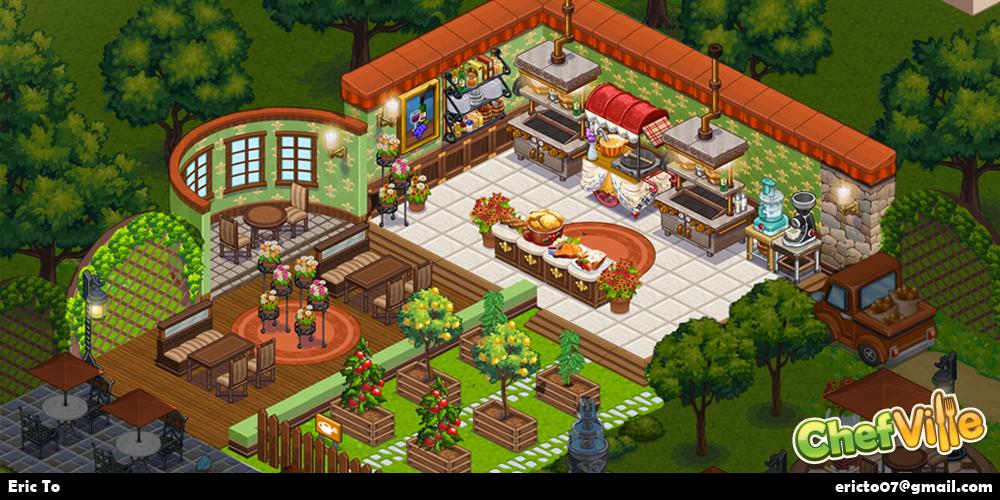 Bistro restaurant theme