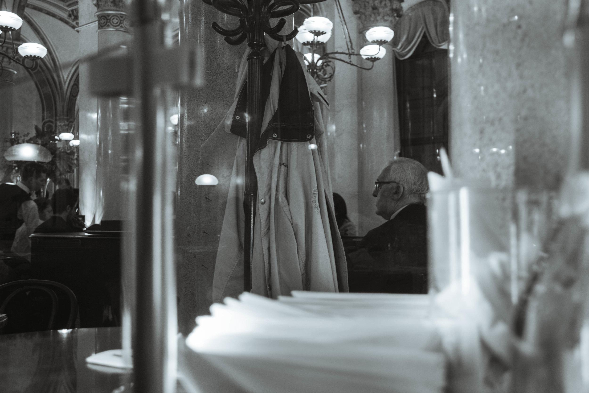 VIENNA - BUDAPEST - PRAGUE - a trip in black-and-white