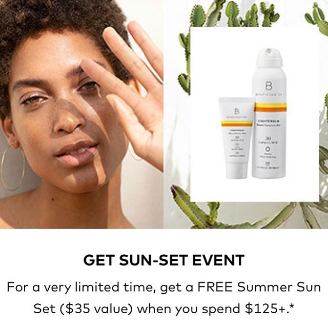 I've been handing out free samples of sunscreen to my lovely clients all month in anticipation of this event! Get 2 free sunscreens when you make a qualifying purchase. I can't stress enough how toxic most over the counter sunscreens are, the FDA has recently even admitted that sunscreen chemicals (avobenzene, oxybenzone, octocrylene, and ecamsule) are rapidly absorbed into our bloodstream within 24 hours. Beautycounter sunscreens do not contain these chemicals! This is a good chance to stock up before the pools open for summer. DM me with any questions. Link to purchase is in my profile!