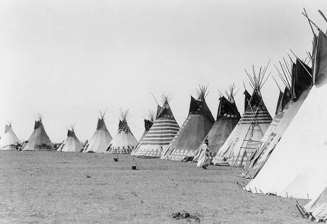 Tipis, Blackfeet