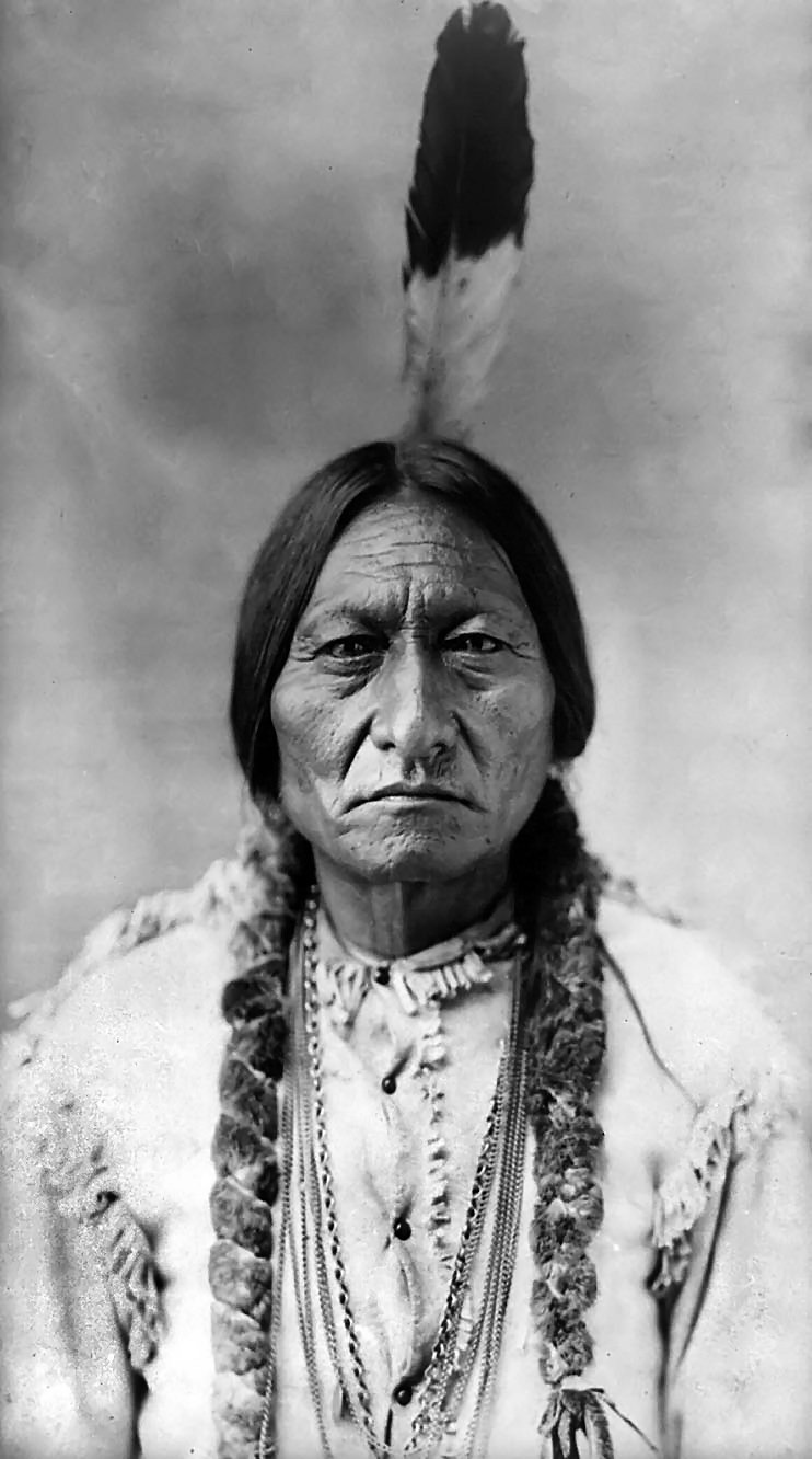 Sitting Bull, Hunkpapa Lakota, 1884, photo by David Francis Barry
