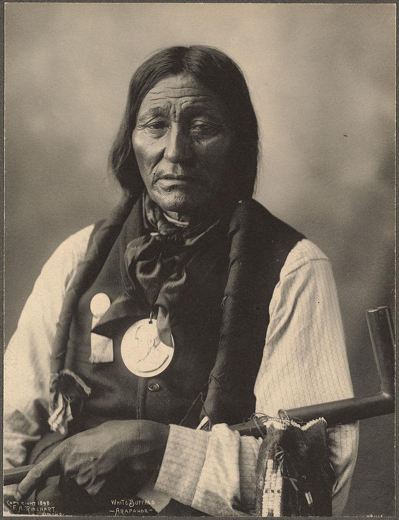 White Buffalo, Arapahoe, 1898