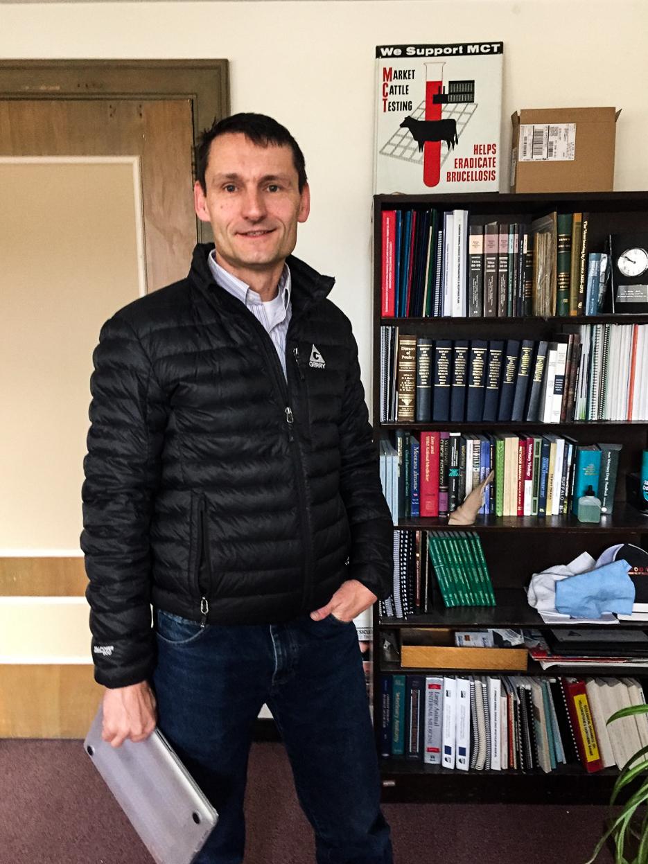 Martin Zaluski, Montana State Veterinarian