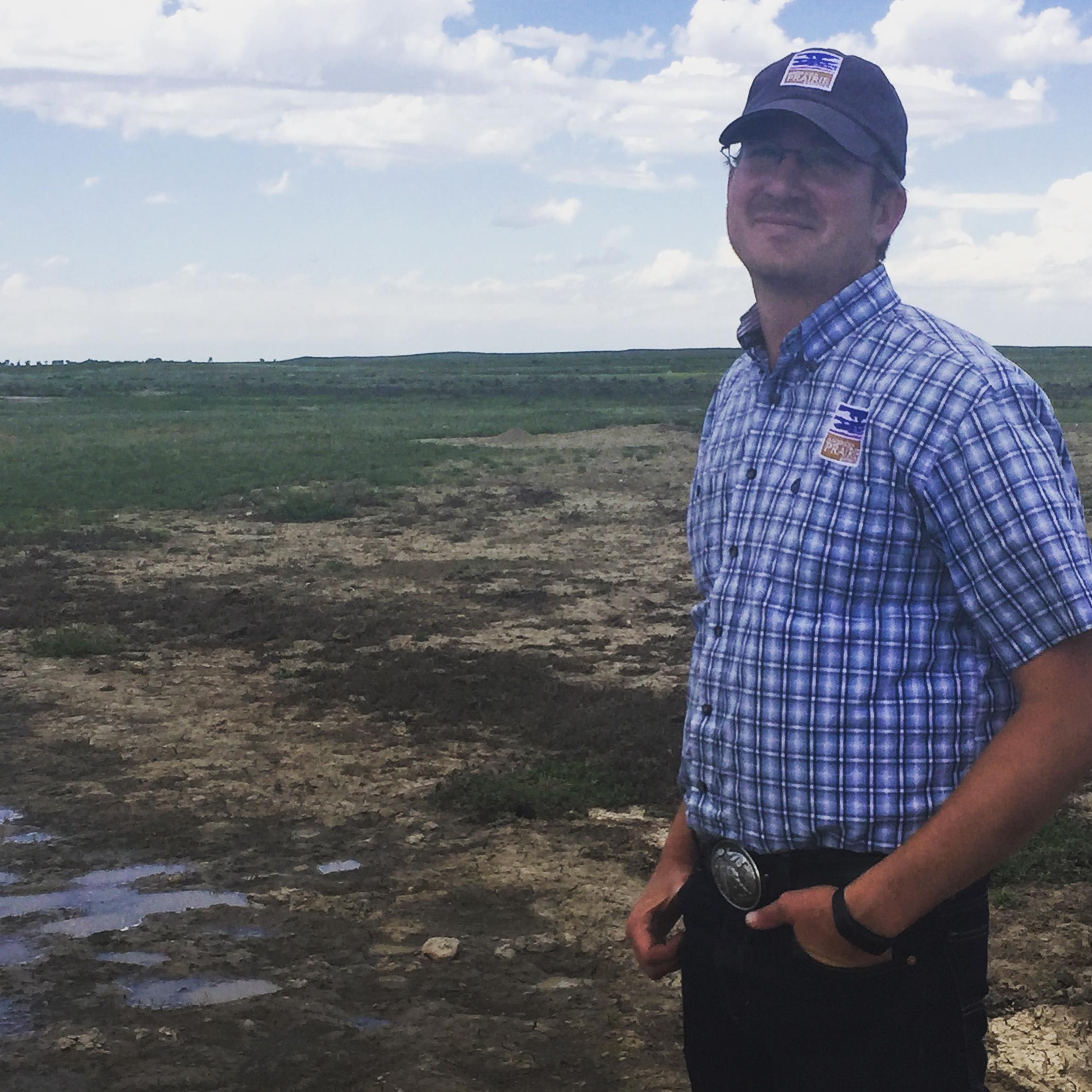 Damien Austin of the American Prairie Reserve