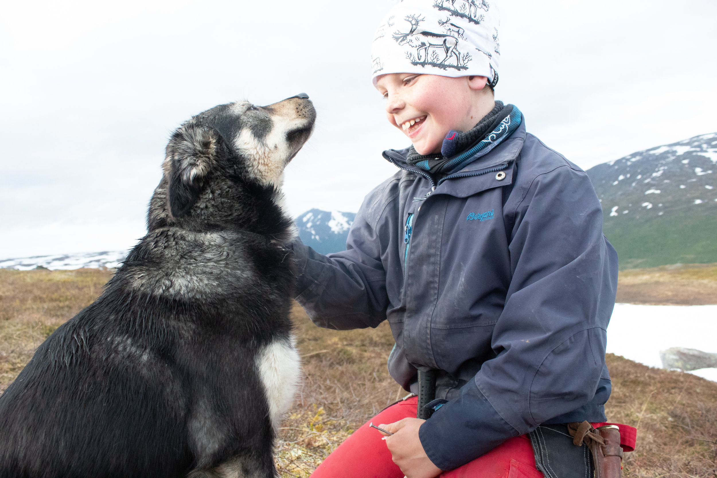 Ulf Isak Aleksandersen is 10 years old, and speaks three languages: Norwegian, Sámi and English.