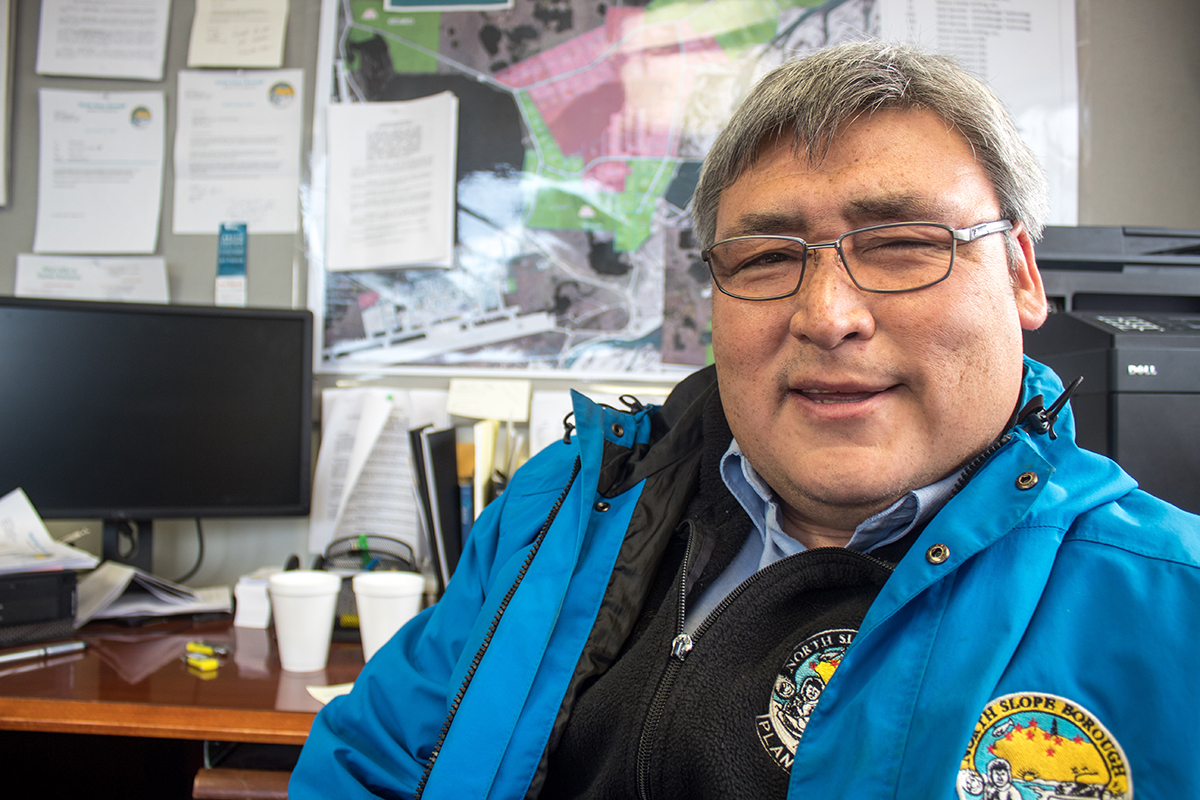 Gordon Brower is the director of the planning department of the North Slope Borough and a whaling captain in Utqiagvik, Alaska.