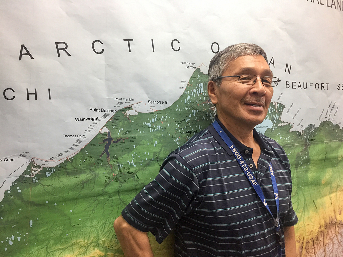 Price Leavitt is the executive director of the Iñupiat Community of the Arctic Slope.