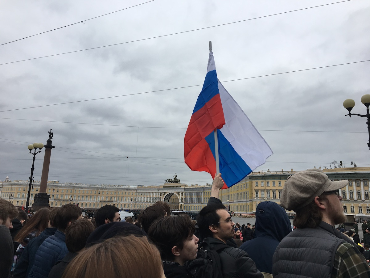 Protesters took to the streets prior to Vladimir Putin's fourth inauguration.