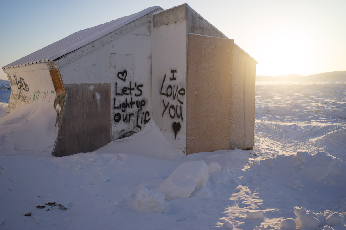 Across Canada, the proportion of Inuit who speak Inuktitut is on the decline.