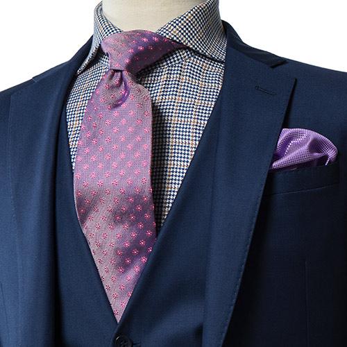 Luxury Floral Silk Necktie - Franco Uomo