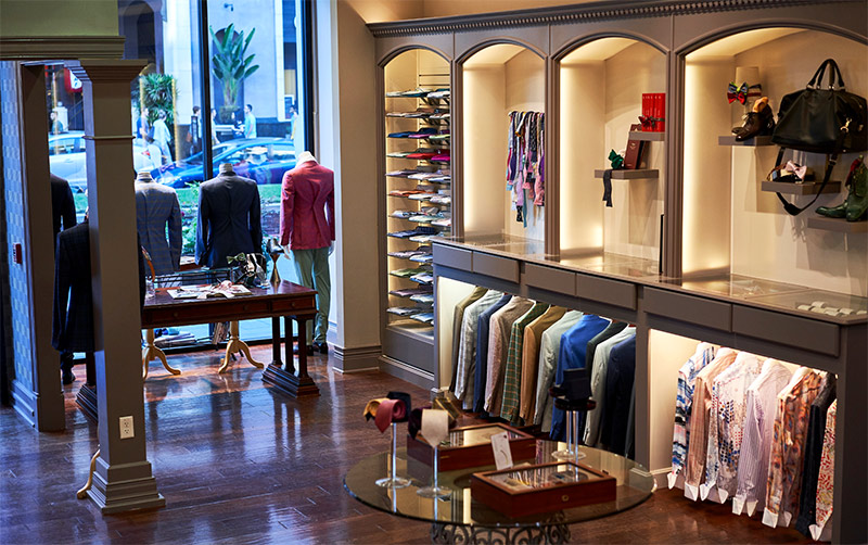 Franco Uomo Custom Menswear Boutique Off-The-Rack Suits on Santana Row in San Jose California