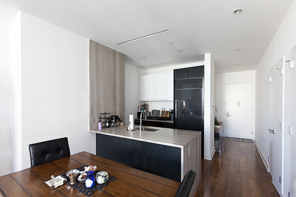 Enjoy panoramic views of Manhattan skyline from the 31st floor of this lovely one bedroom apartment.Floor-to-ceiling windows, state of the art kitchen has sub zero appliances, washer/dryer in the unit, marble bath - nothing was overlooked in this luxury full service condominium located in the heart of one of the most desired locations in New York.You have the luxury of a 24 doorman with Abigail Michaels concierge services, a large fitness center, an indoor heated pool, a resident's lounge and an outdoor deck. Steps away from the L train and the best restaurant and shops that Williamsburg has to offer. 10 minutes from Union Square! Or you can take a ferry right to 34th Street enjoy a 10 minute boat ride!