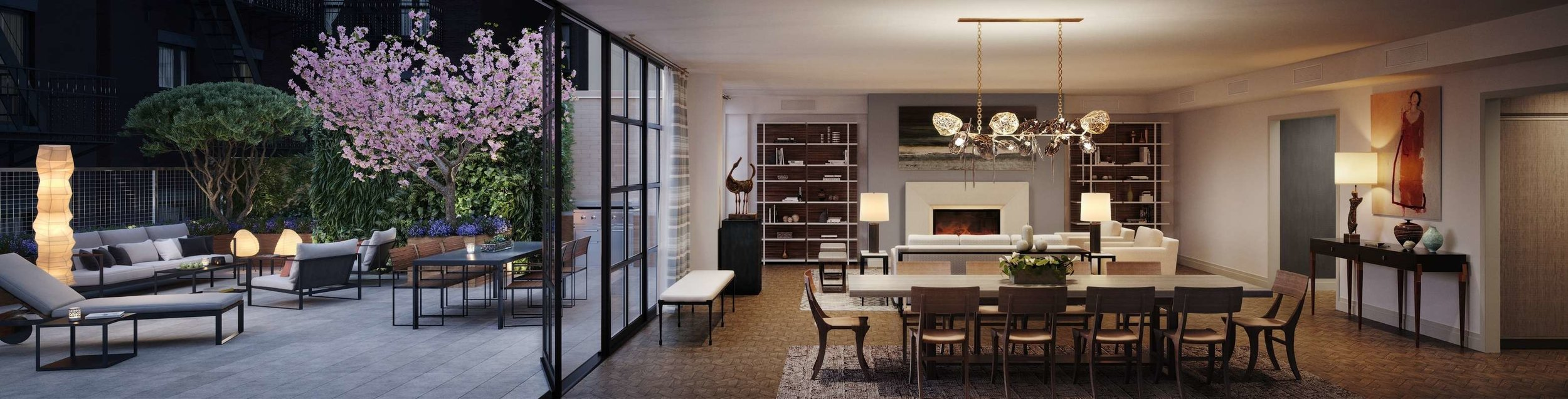 207 W 79 - Living room with terrace.jpg