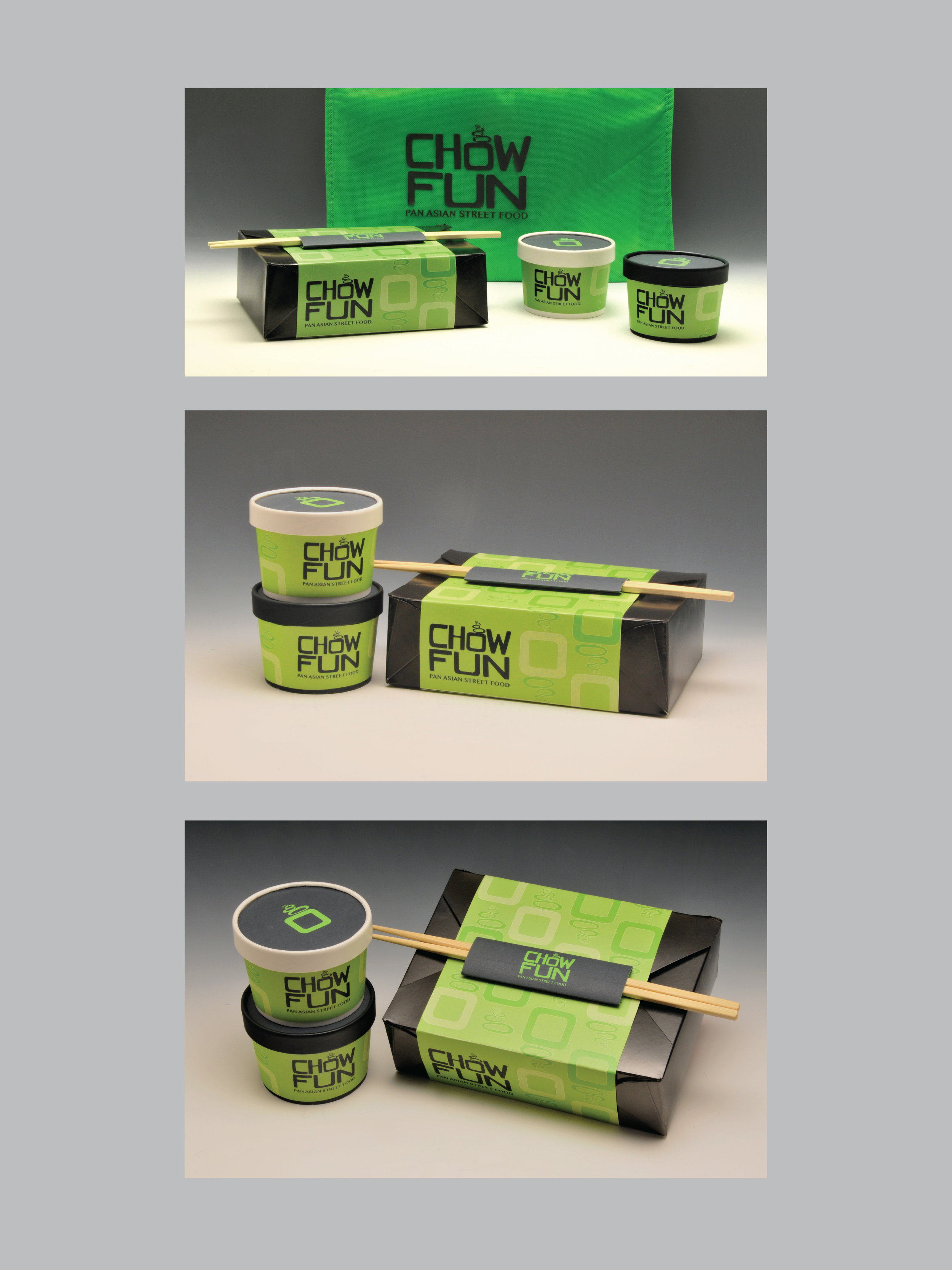 Chow Fun Take Out Package Design