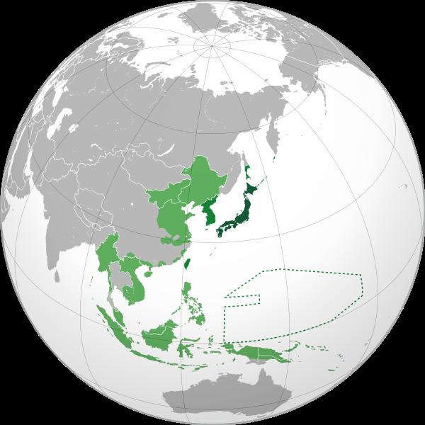 Map of the Japanese Empire (1939) Photo Credit: Shadowxfox