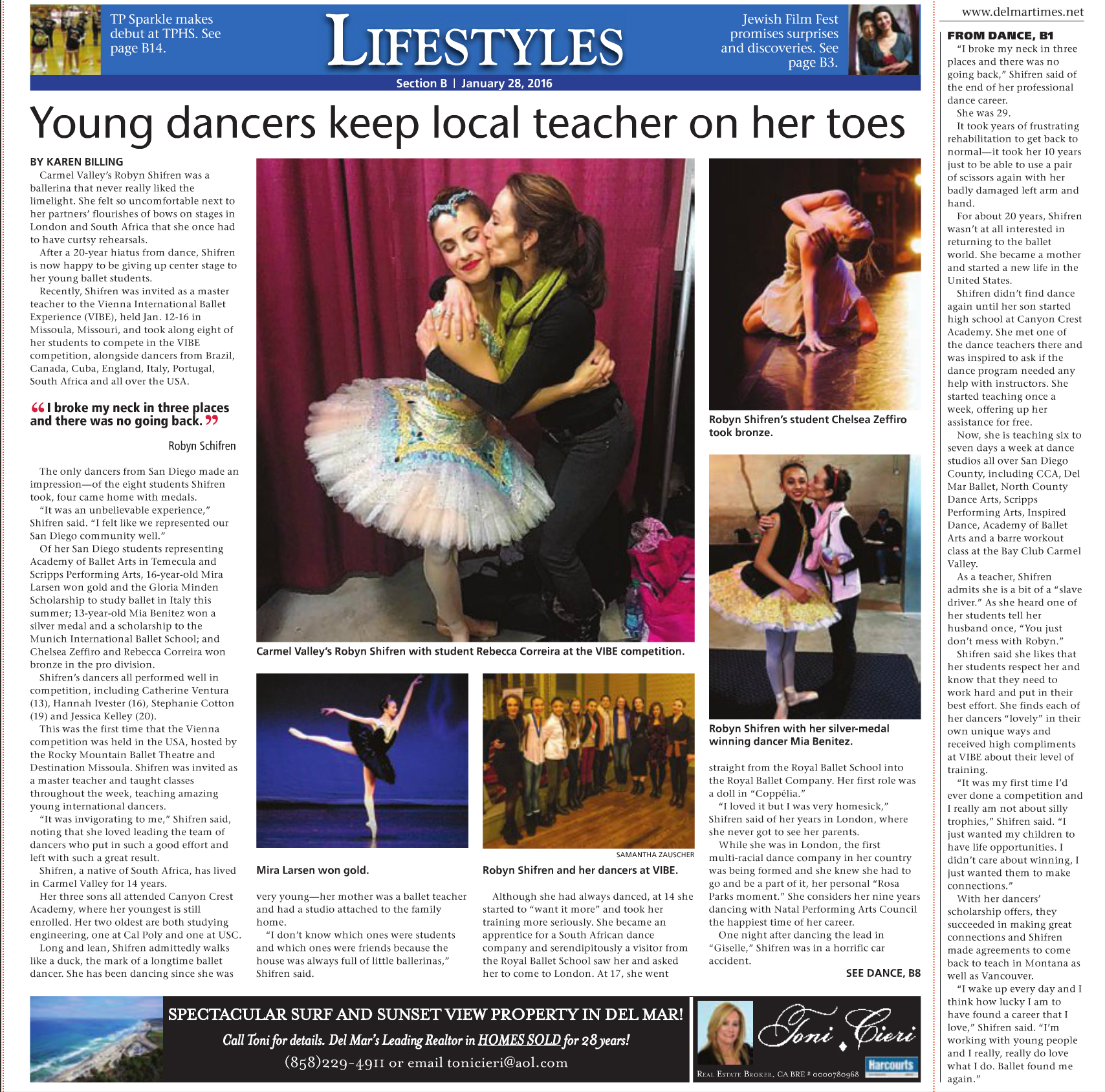 Del Mar Times - full story