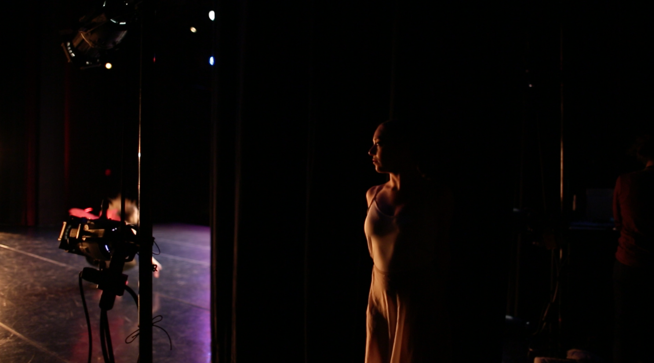In the wings @ the Dennison Theater, University of Montana PC: Sam Zauscher