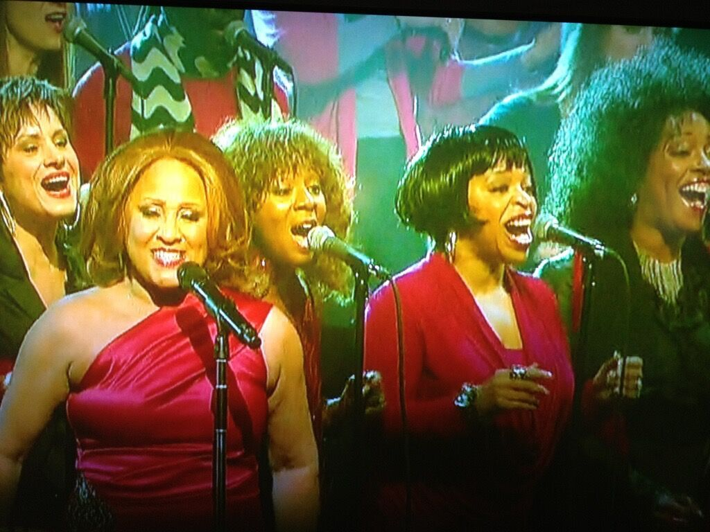 Darlene Love Christmas performance on the Late Show with David Letterman