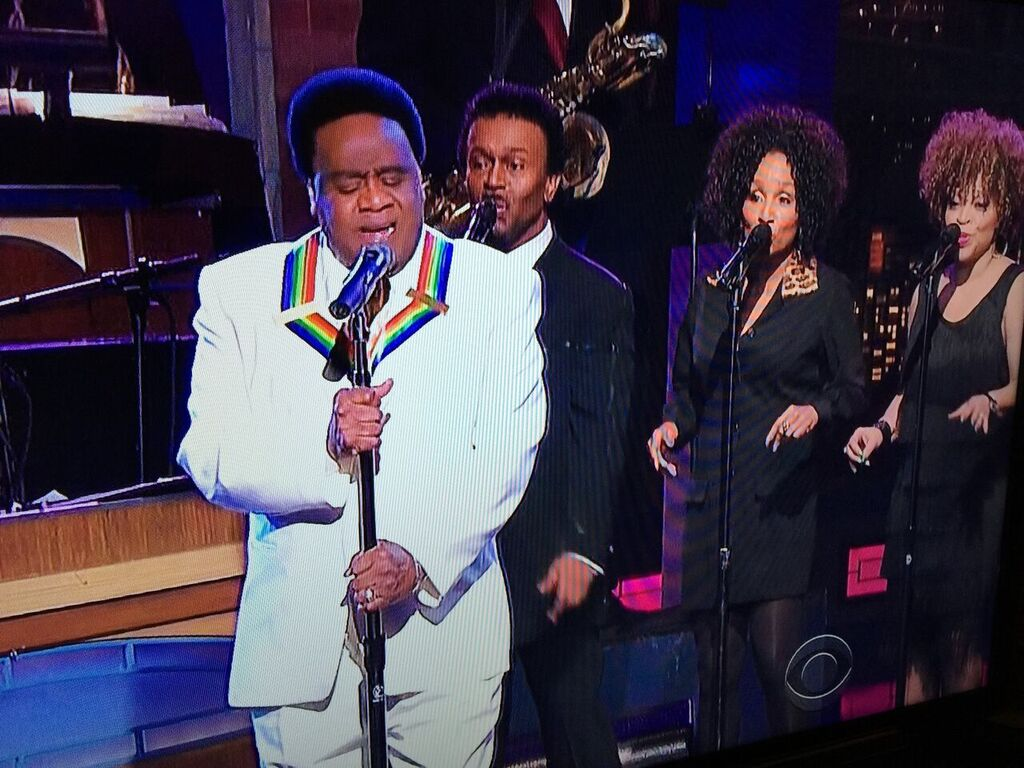 Al Green on the Late Show with David Letterman