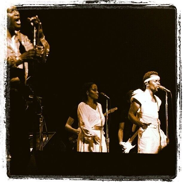 Luther Vandross concert performance