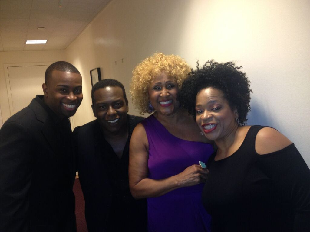 Backstage with Darlene Love on the Late Show with David Letterman
