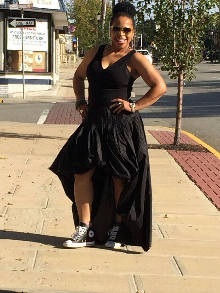 In my SOFISTAFUNK skirt