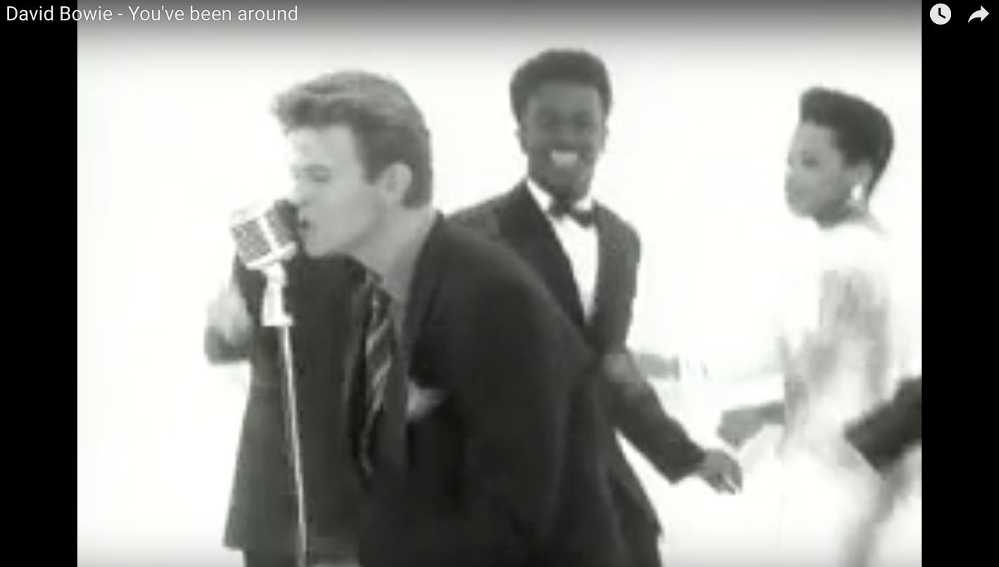 """David Bowie video, """"You've Been Around"""""""