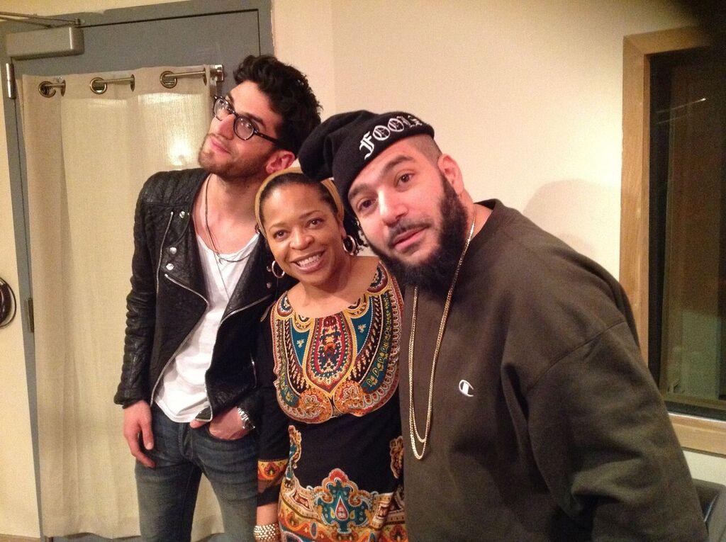 In the studio with CHROMEO