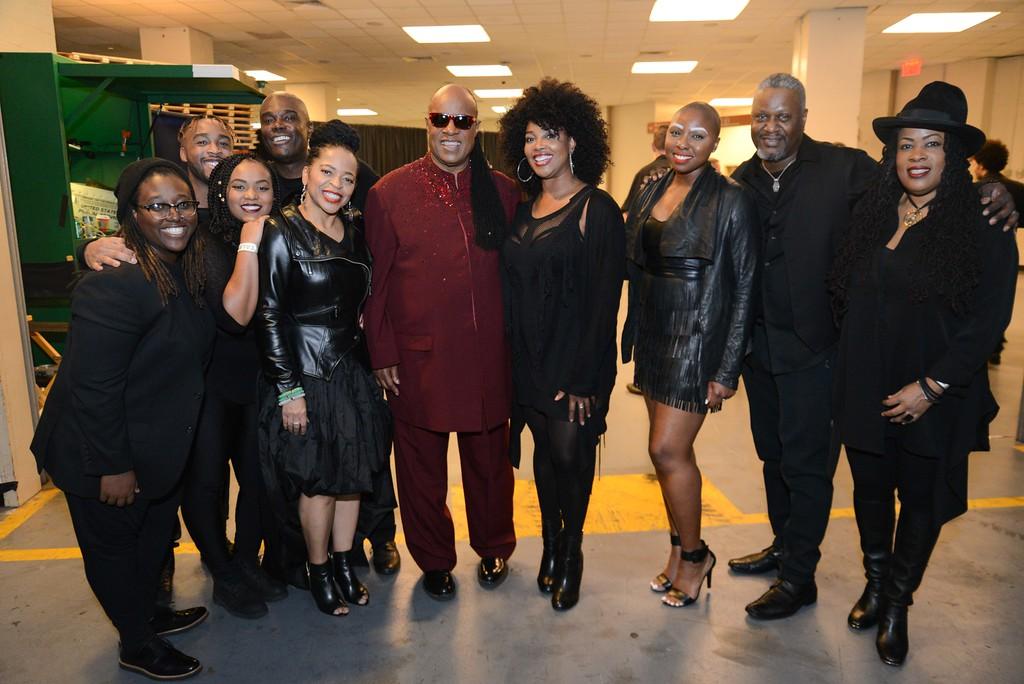 Backstage @ Madison Square Garden at Stevie Wonder Concert