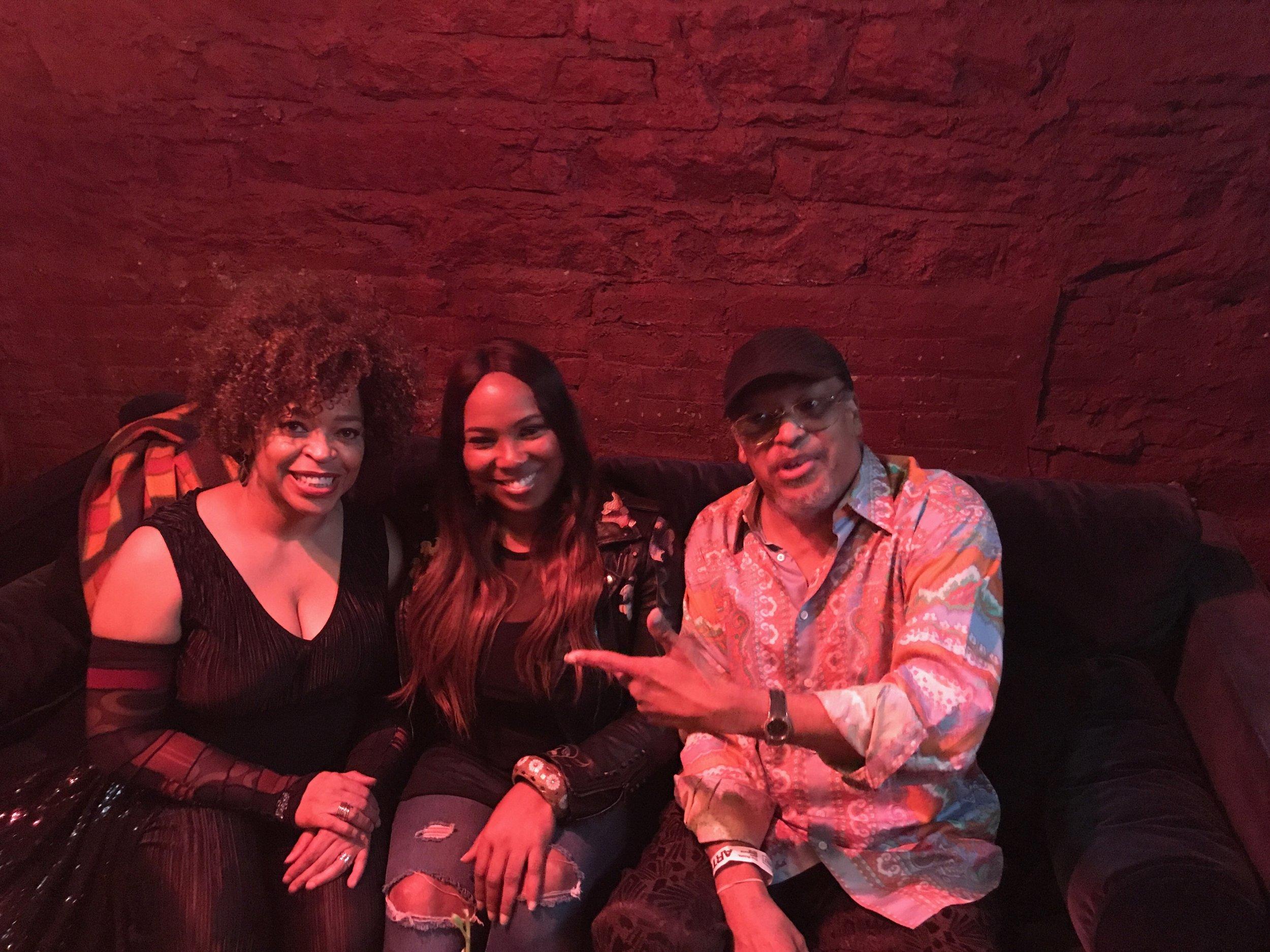 Tawatha, Mary Brown and Mtume at #RootsJamSessions2018