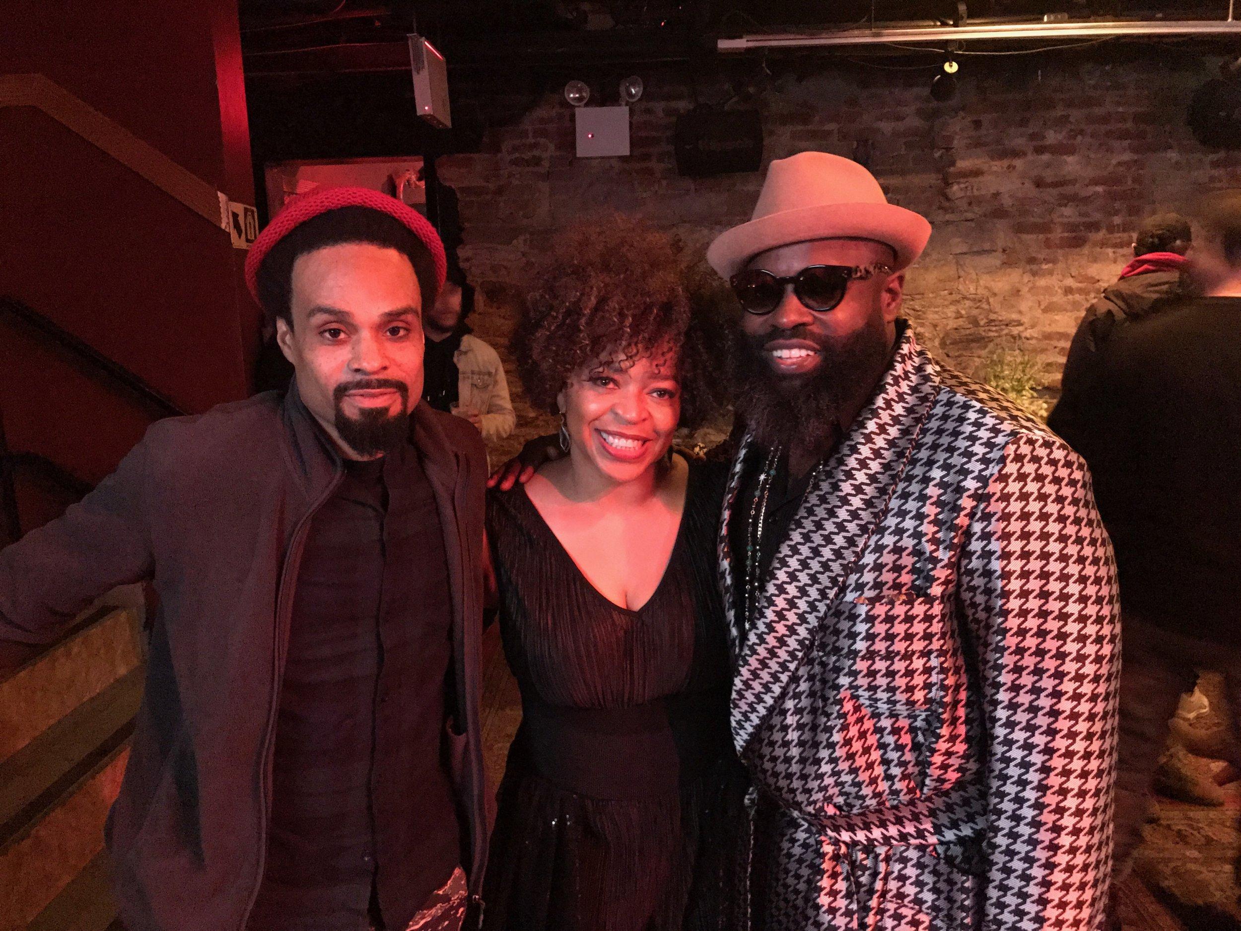 Bilal, Tawatha and Black Thought at #RootsJamSessions2018