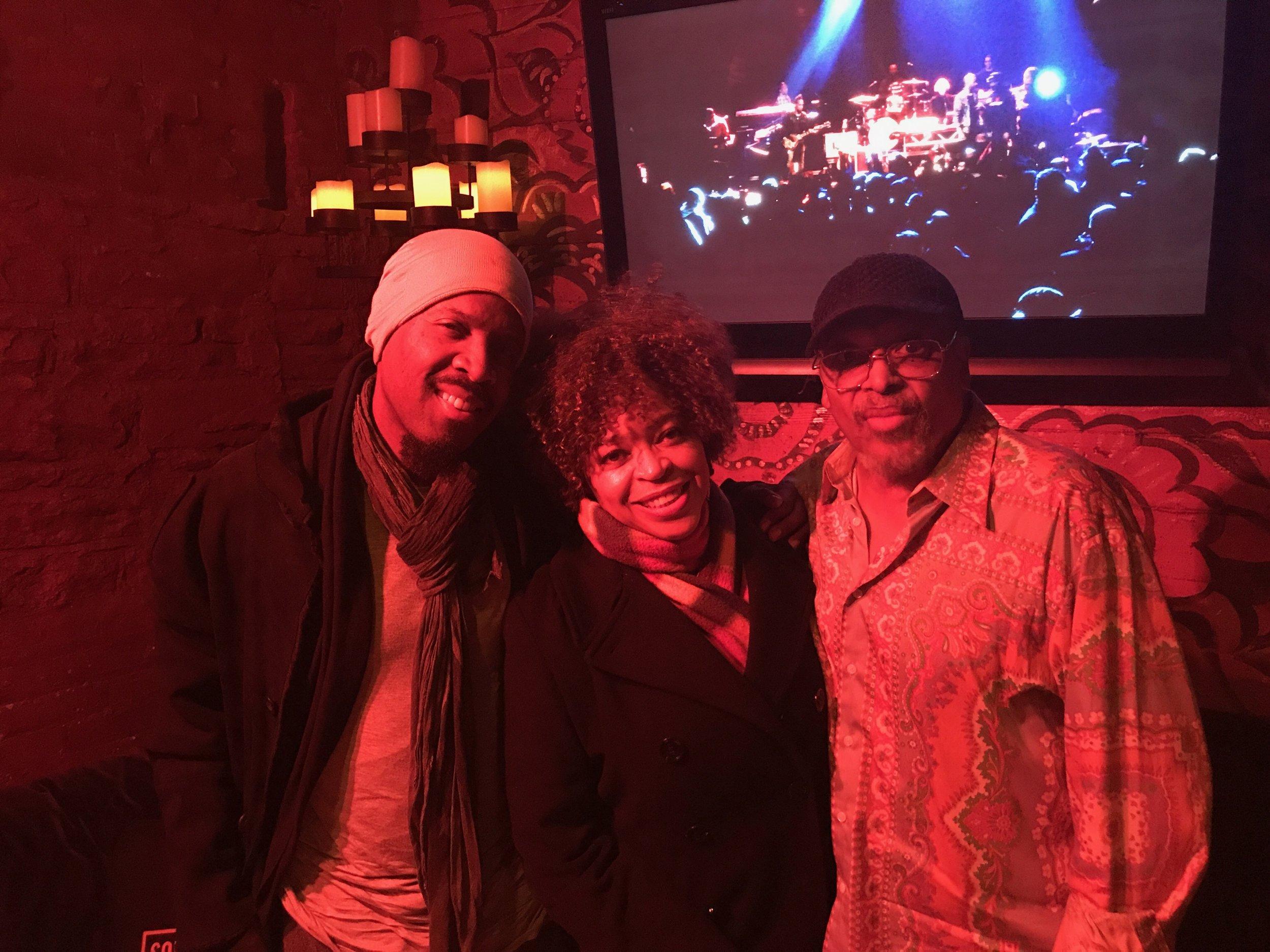 Michael Bearden, Tawatha and Mtume at #RootsJamSessions2018
