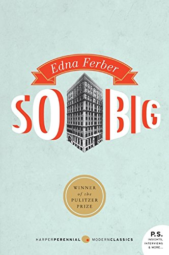 So Big   by Edna Ferber     It was actually recommended to me by a dear friend. She is also a farmer and read this book early on in her career.