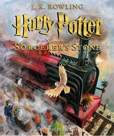 Harry Potter and the Sorcerer's Stone  (actually, the whole series) by J.K. Rowling