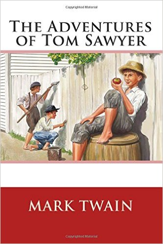 """The Adventures of Tom Sawyer by Mark Twain  """"I always loved the part in the cave."""""""