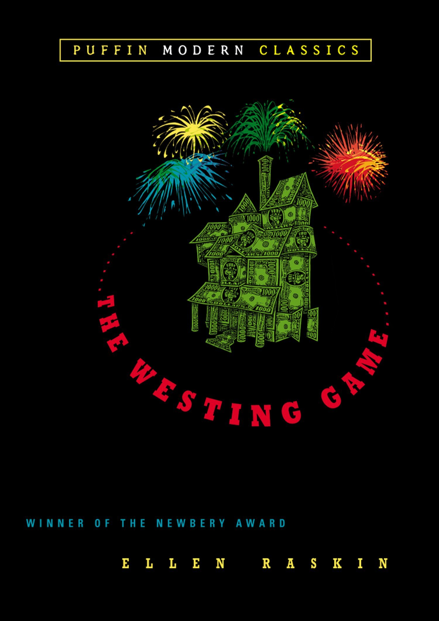 "The Westing Game  by Ellen Raskin   ""A middle-grade novel with multiple points of view, including adult characters. I loved that so much.  """