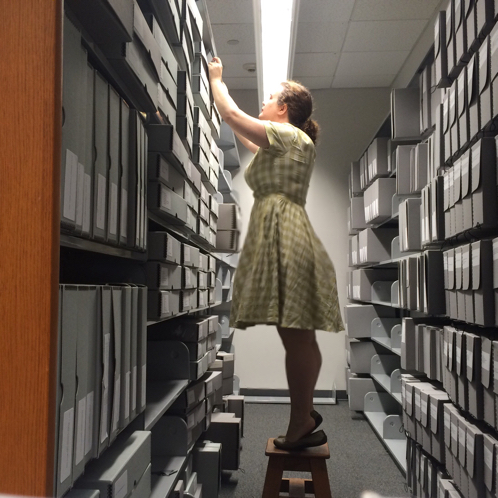 Amanda Watson the Librarian