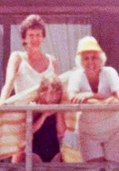 """Amanda with her mother and grandmother, two of the """"strong Mississippi women"""" she grew up with."""
