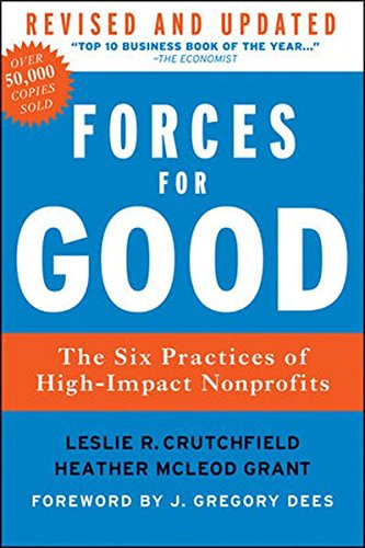 Forces for Good  by Leslie R. Crutchfield and Heather McLeod Grant