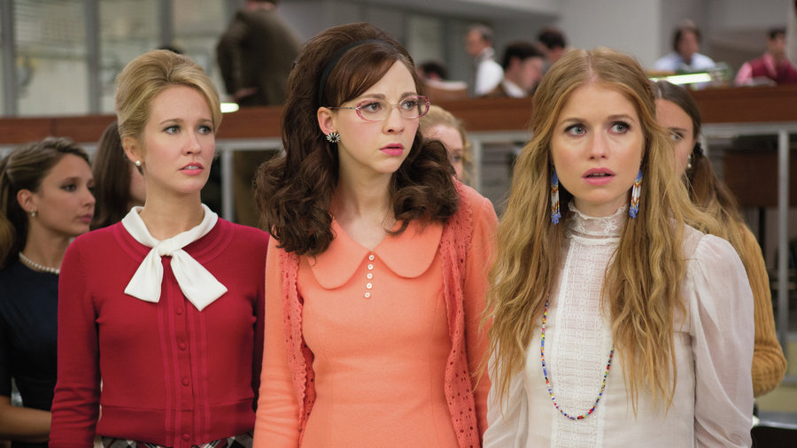The three main characters from Good Girls Revolt on Amazon.