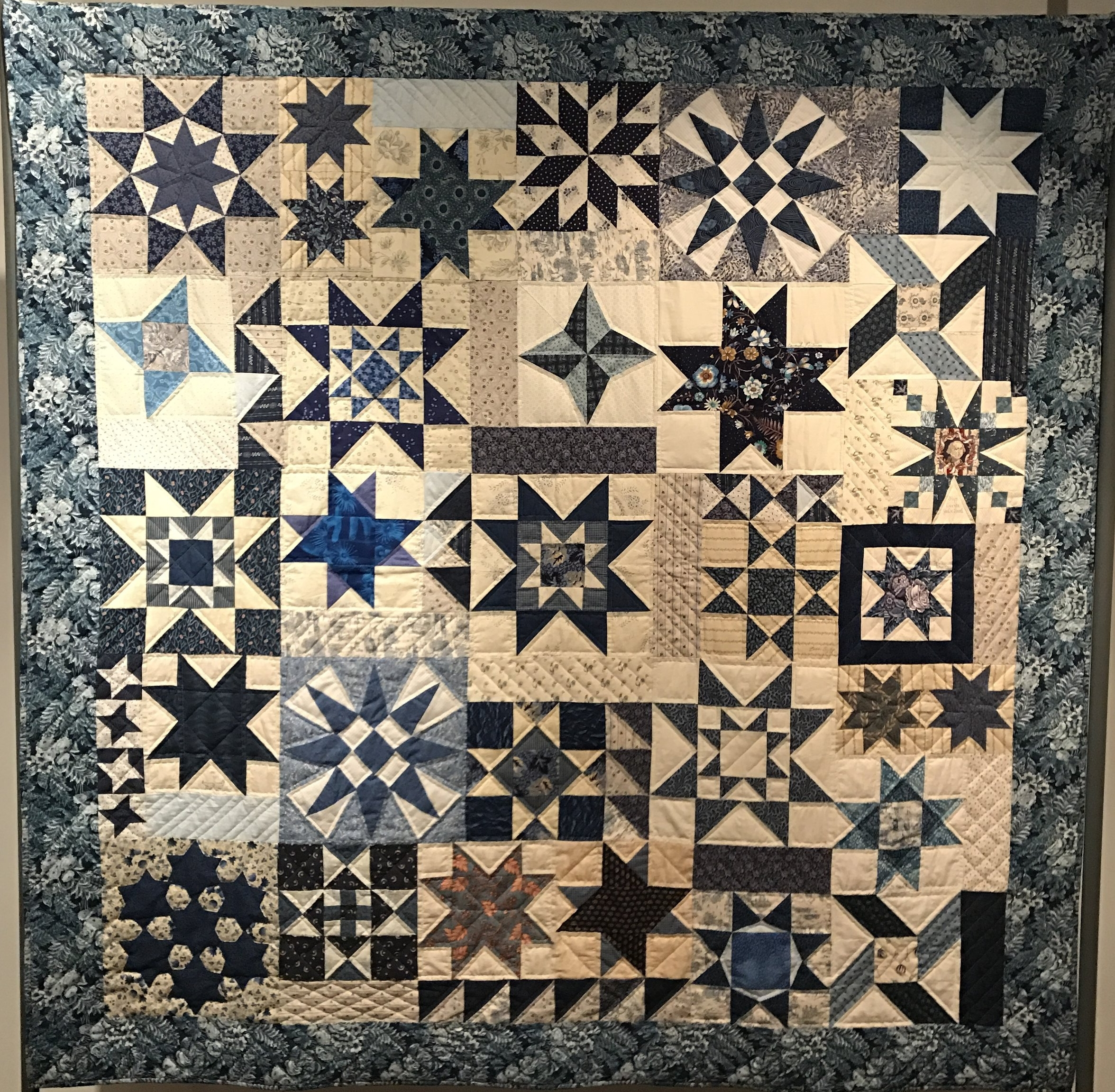 Quilt made for Cuesta