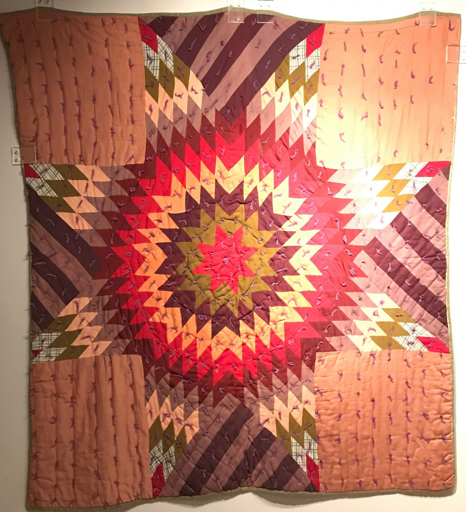 Lone Star Quilt, 1950s