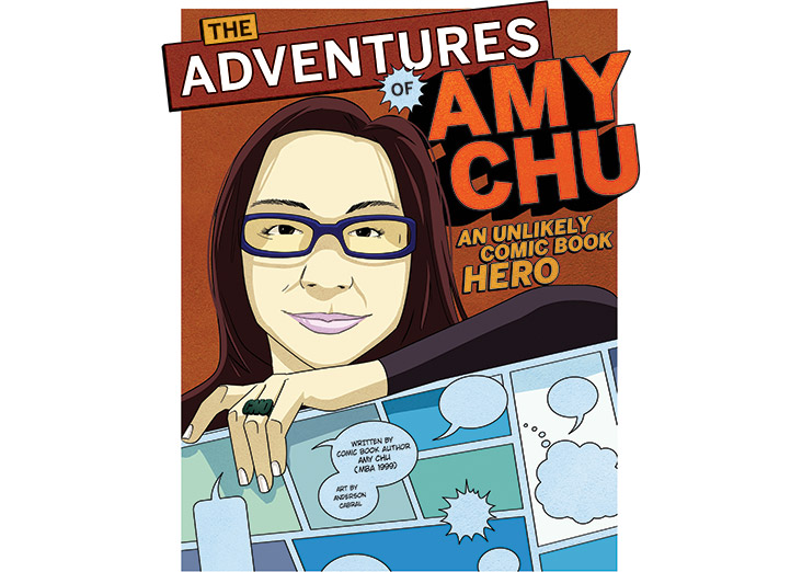 Check out Amy's story- in comic book form!