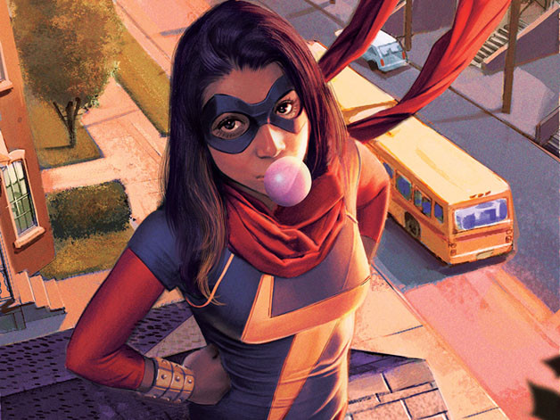 Ms. Marvel, Kamala Khan, co-created by Sana Amanat