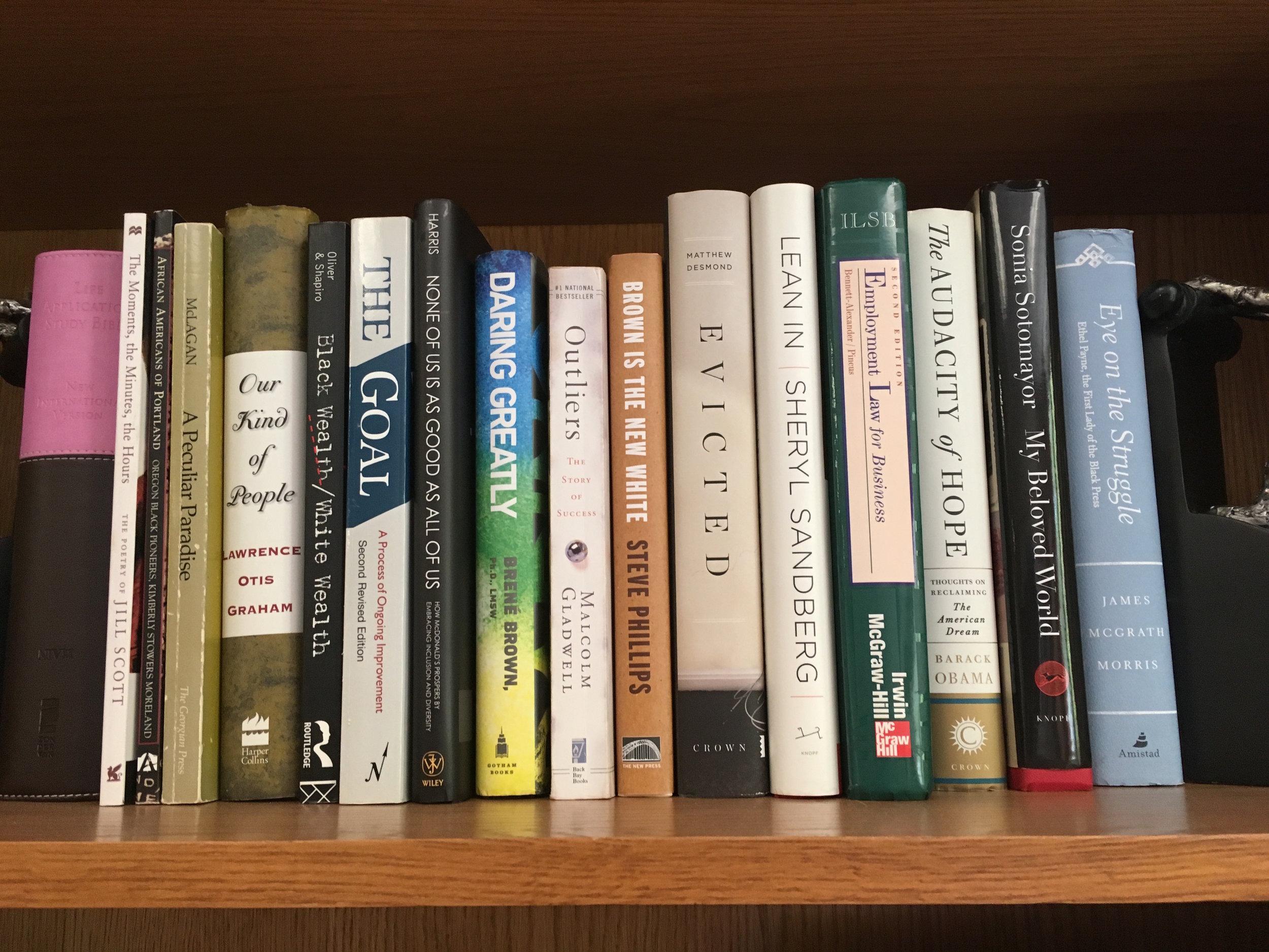 Janelle Bookshelf