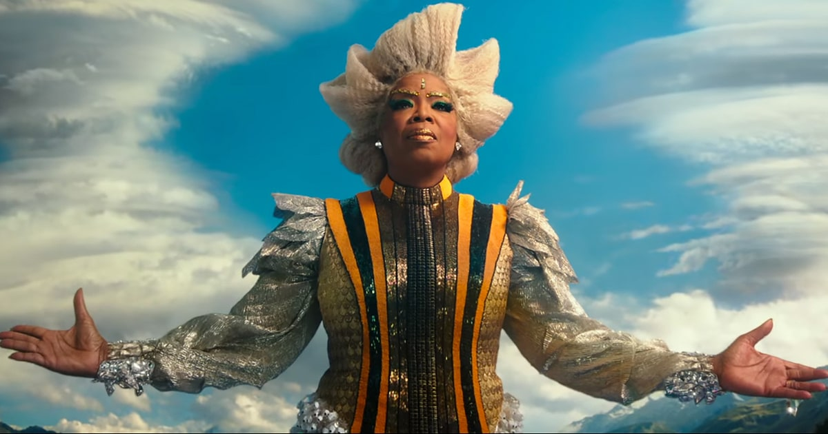 Oprah in character in the upcoming  Wrinkle in Time  movie. This is basically how I picture her anyway: wise, powerful, and stunning.